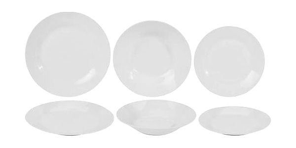 18dílná porcelánová jídelní sada2