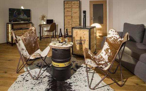 Pivní hotel Zlatá kráva - pípa na pokoji + wellness, Nepomuk, 2 noci - pokoj Standard, 2 osoby, 3 dny2