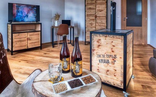 Pivní hotel Zlatá kráva - pípa na pokoji + wellness, Nepomuk, 2 noci - pokoj Standard, 2 osoby, 3 dny3