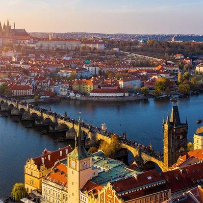 Moderní 4* hotel na dosah centra Prahy a 2 děti zdarma