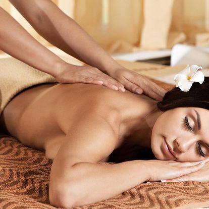 30–60 minut uvolňující masáže podle výběru
