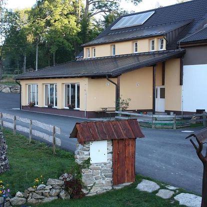 Šumava: Penzion Farma Žleby