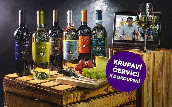 Domácí degustace vín - Víkendový balíček + bedna šesti druhů vína, U vás doma, Víkendový balíček2
