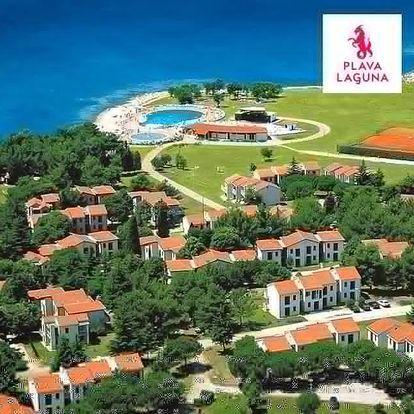 Chorvatsko, Umag   Apartmány Polynesia***   Dítě zdarma   Venkovní bazén   Mini klub pro děti   Polopenze