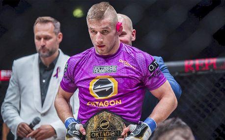 Privátní trénink MMA se šampionem Davidem Kozmou