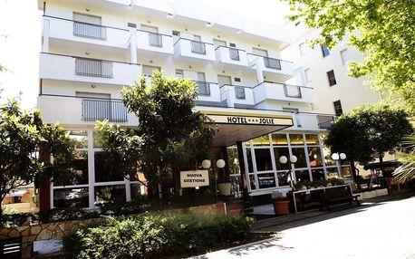 Itálie, Rimini | Hotel New Jolie*** s polopenzí | Dítě zdarma | 150 m od pláže
