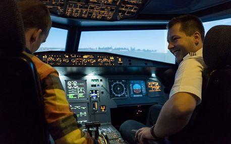 Simulátor dopravního letadla Airbus A320
