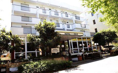 Itálie, Rimini | Hotel New Jolie*** s plnou penzí | Dítě zdarma | 150 m od pláže