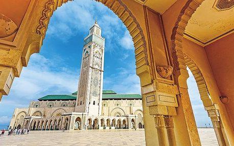 Maroko - Agadir letecky na 8 dnů, polopenze