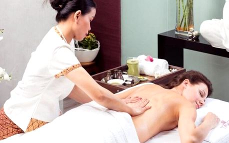 Královská olejová bylinná masáž
