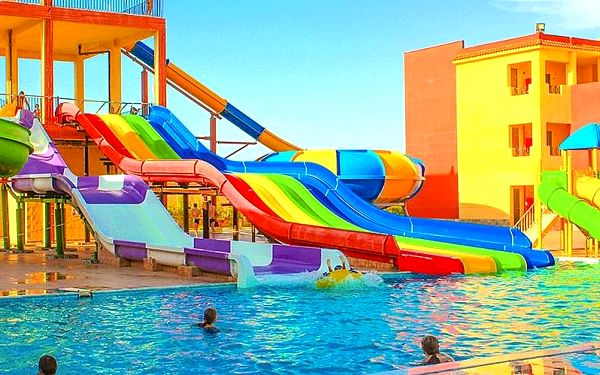 Hotel Magic Tulip Resort & Aquapark, Marsa Alam, letecky, all inclusive2