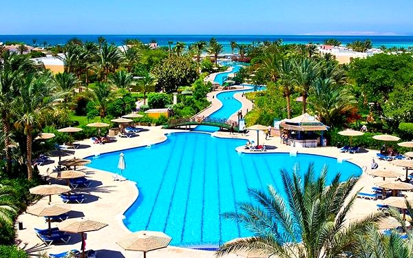 Hotel Golden Beach Resort, Hurghada, letecky, all inclusive