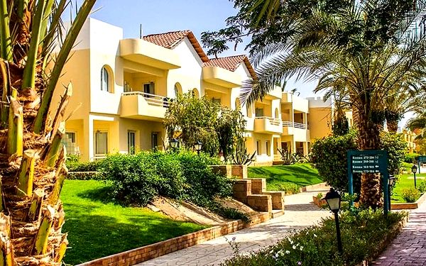 Hotel Golden Beach Resort, Hurghada, letecky, all inclusive2