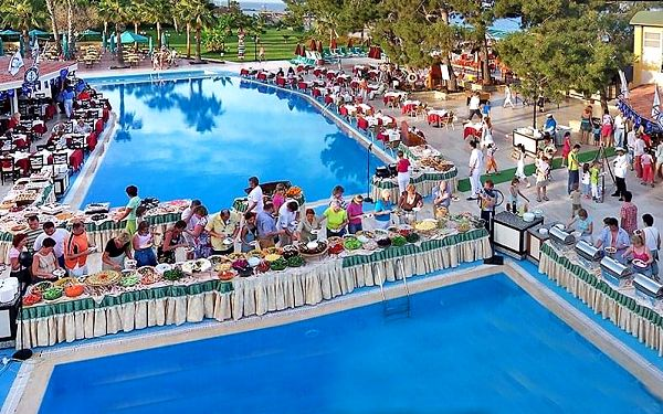 Hotel Club Boran Mare Beach, Turecká riviéra, letecky, all inclusive5