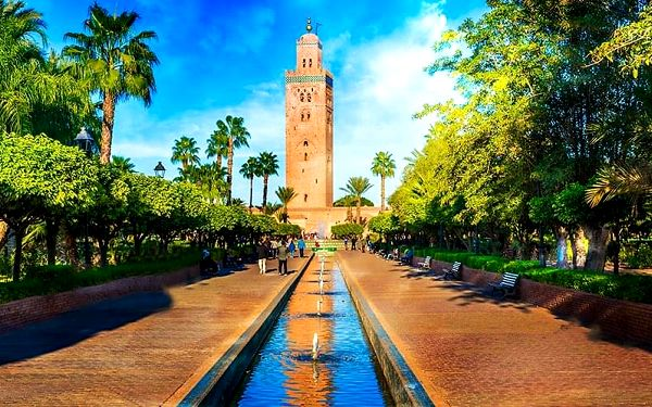 Okruh Saharou, Agadir, letecky, polopenze2