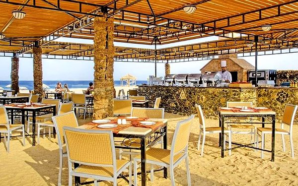 Hotel Gorgonia Beach Resort, Marsa Alam, letecky, all inclusive3