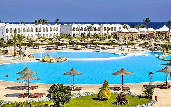Hotel Gorgonia Beach Resort, Marsa Alam, letecky, all inclusive5