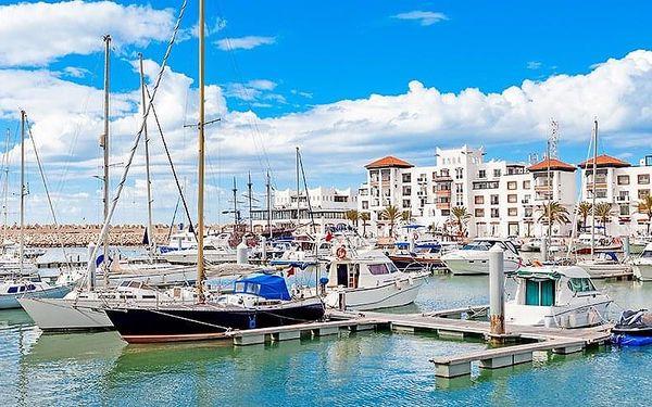 Okruh Saharou, Agadir, letecky, polopenze3