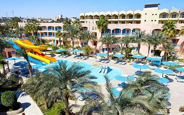 Hotel Le Pacha Resort, Hurghada, letecky, all inclusive4