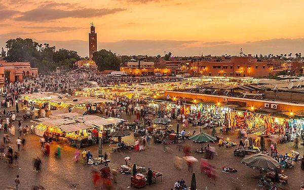 Královská Sultánská Města, Agadir, letecky, polopenze3