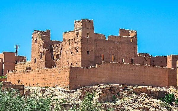 Okruh Saharou, Agadir, letecky, polopenze4