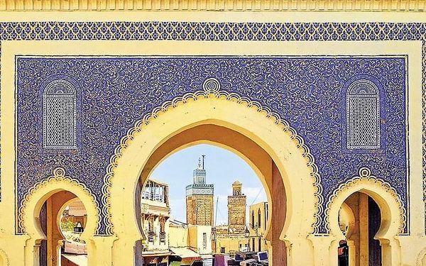 Velký Okruh Marokem, Agadir, letecky, polopenze5