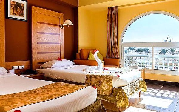 Hotel Golden Beach Resort, Hurghada, letecky, all inclusive4