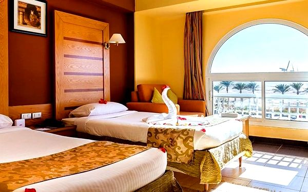 Hotel Golden Beach Resort, Hurghada, letecky, all inclusive5
