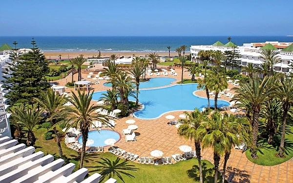 Hotel Iberostar Founty Beach, Agadir, letecky, all inclusive