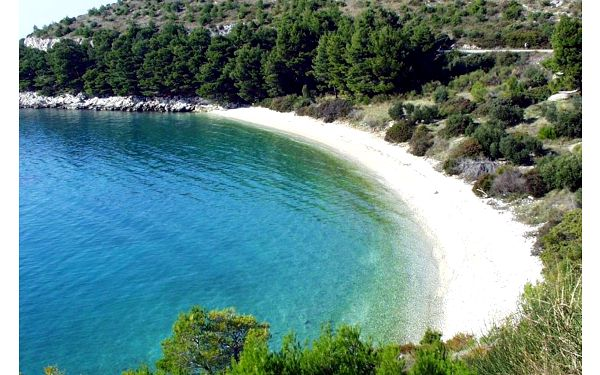 Chorvatsko, Drvenik: Apartments by the sea Drvenik Donja vala, Makarska - 6658