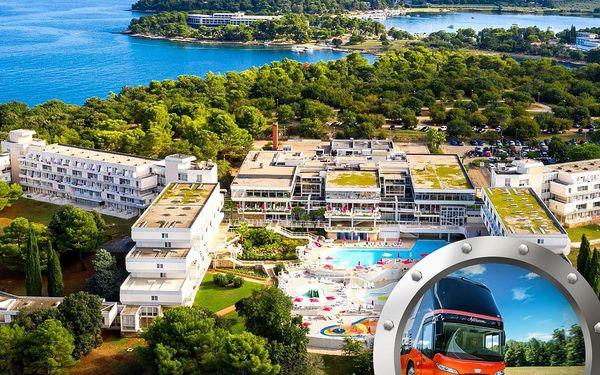 Zkrácená dovolená Istrie | Hotel Delfin** | Doprava v ceně | Dítě do 11,99 let zdarma | Polopenze