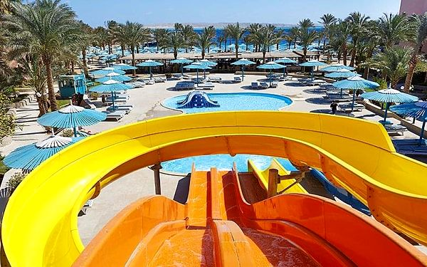 Hotel Le Pacha Resort, Hurghada, letecky, all inclusive