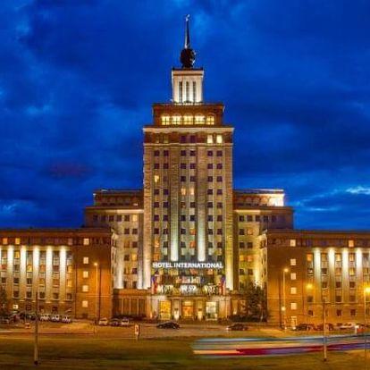 Praha u ZOO ve 4* Hotelu International Prague zapsaném na seznamu památek se snídaní + dítě do 12 let zdarma
