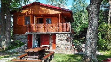Pobyt v CHKO Třeboňsko v chatě s vlastní kuchyní