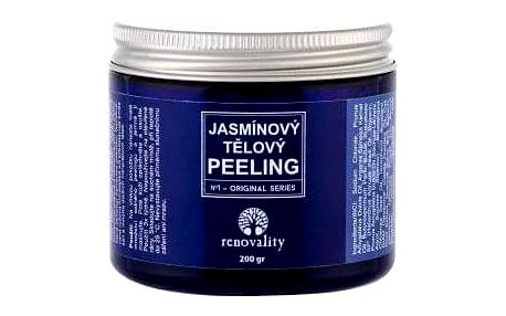 Renovality Original Series Jasmine Body Peeling 200 ml jasmínový tělový peeling pro ženy