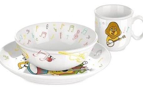 Tescoma Dětská jídelní sada BAMBINI, muzikanti