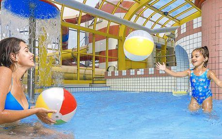 Návštěva aquaparku: 3 h radosti pro malé i velké