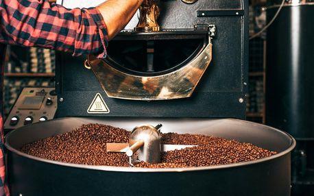 Exkurze do pražírny kávy s ochutnávkou i výslužkou