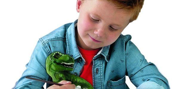 Ses Kreativní sádrový set Svíticí kostra T-rexe2