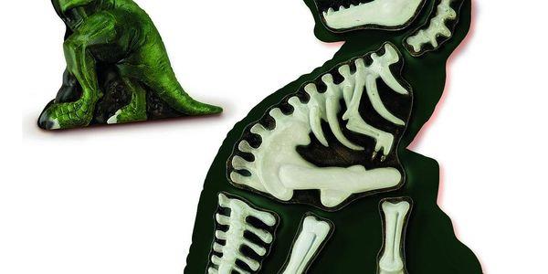 Ses Kreativní sádrový set Svíticí kostra T-rexe4