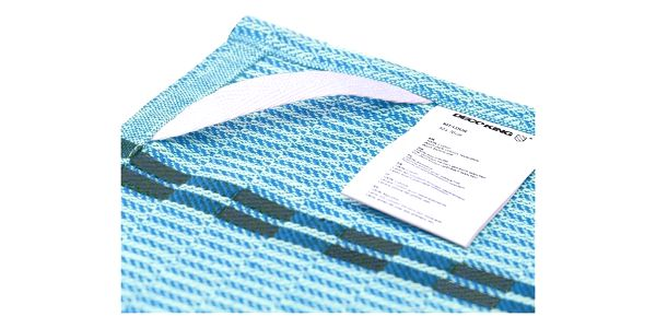 DecoKing Kuchyňská utěrka Louie modrá, 50 x 70 cm, sada 10 ks2
