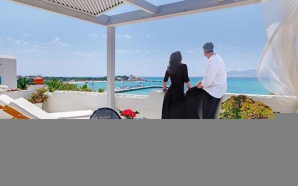 Iria Beach Art Hotel, Naxos, Řecko, Naxos, letecky, snídaně v ceně4