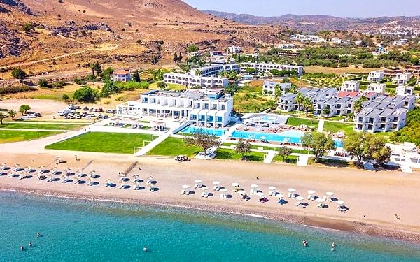 Hotel Kamari Plus, Rhodos, letecky, all inclusive