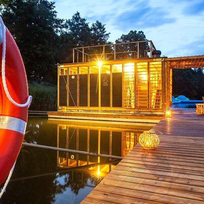 Permanentka na 10 vstupů do finské sauny na řece