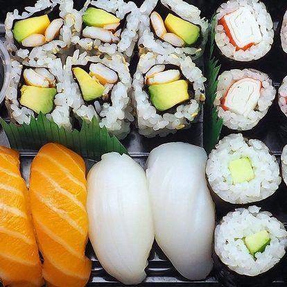 Rozvoz sushi po Ostravě: do 90 minut u vás doma