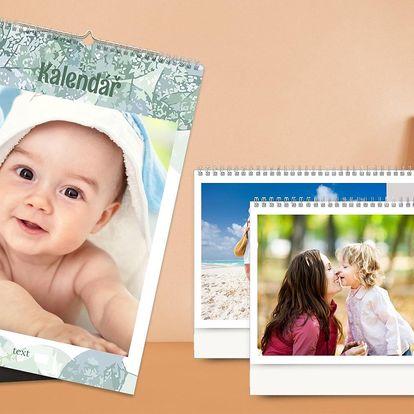 Kalendář z vlastních fotek: týdenní, měsíční, roční