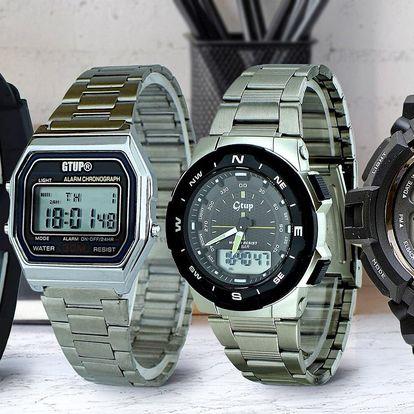 Buďte digi: sportovní i retro digitální hodinky GTUP