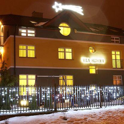 Zimní pobyt Beskydy Valašsko Vila Hedvika*** Rožnov pod Radhošt..., Beskydy a Valašsko