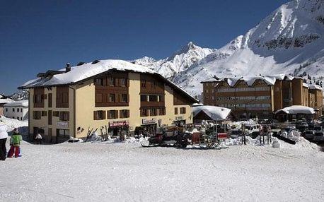 Itálie - Passo Tonale na 8-10 dnů