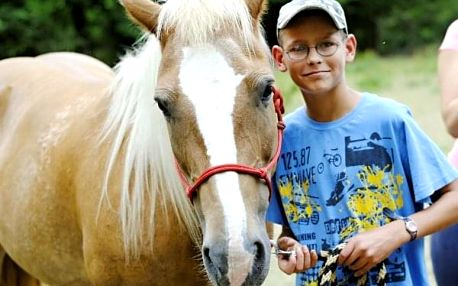 Letní tábory s koňmi na Vysočině